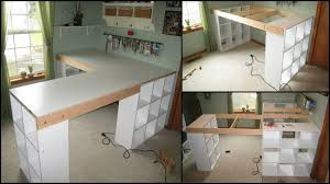 build a craft table how to build a custom craft desk the owner builder network