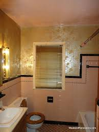 Gold Bathroom Fixtures by 25 Wonderful Pictures And Ideas Of Gold Bathroom Wall Tiles