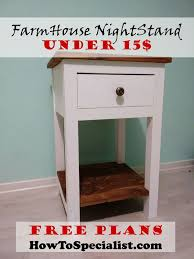 How To Make End Tables With Drawers by Best 25 Diy Nightstand Ideas On Pinterest Crate Nightstand