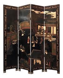 Vintage Room Divider Vintage Or Antique Japanese 4 Panel Room Divider Chairish