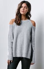 cold shoulder sweaters only j o a delivers a stylish and cozy look this season