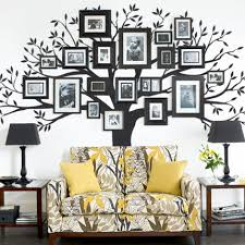 family tree decal wall decals simpleshapes on artfire