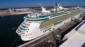 Largest Cruise Ship One Of Largest Cruise Ships Makes Port Canaveral Home