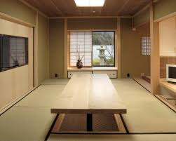 japanese style home interior design japanese home office inspiration for a mid sized built in desk