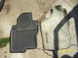 nissan rogue all weather mats picture request oem rubber floor mats nissan frontier forum