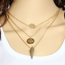 womens necklace chains images Classy design gold chain necklace womens wan zi women s football jpg