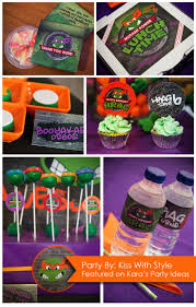 448 best tmnt party images on pinterest ninja turtle party