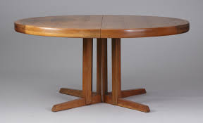 george nakashima widdicomb walnut dining table with 3 leaves