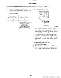 nissan 300zx 1984 z31 electrical system workshop manual