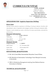 Sample Resume Logistics Coordinator by International Logistics Resume Sales Logistics Lewesmr