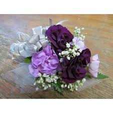 purple corsage purple carnation corsage seven florist cicero in 46034
