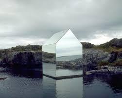 architecture a mirrored house despoke