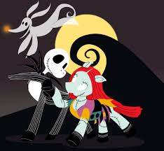 nightmare before halloween nightmare before christmas my little pony style by trinityinyang