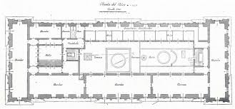 Banquet Hall Floor Plans The Devoted Classicist Palacio De Liria The Madrid Residence Of