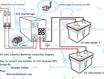 ups u0026 inverter wiring diagram for one room office electrical