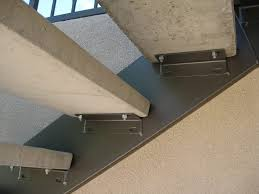 steel railing with concrete treads pascetti steel design inc