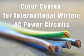 international wiring color codes for ac power circuits u2013 label id