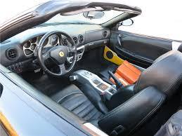 Ferrari 360 Interior 2003 Ferrari 360 Modena Convertible 168054