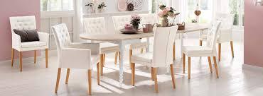 Esszimmer Im Shabby Look Tische U0026 Stühle Landhausstil In Weiß U0026 Kiefer