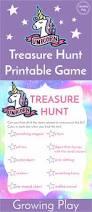 printable halloween scavenger hunt unicorn treasure hunt game free printable growing play