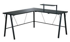 Black Glass Computer Desks For Home Modern Glass Computer Desk Glass And Metal Computer Desk Desk