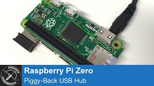 Usb Hub Raspberry Pi Zero Piggy Back Usb Hub Youtube