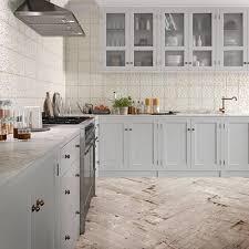 how to cut ceramic tile around kitchen cabinets aged white ornato matte ceramic tile 8 x 8 100566215