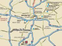 map of metro atlanta atlanta maps for downtown buckhead metro atlanta