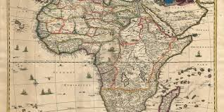africa map before colonization africa bibliography of colonial history 17th 18th century