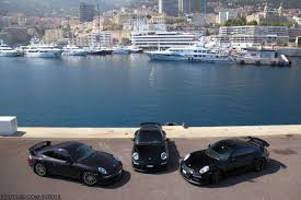 black porsche 911 gt3 photo of the day black porsche 911 gt3 trio in monaco gtspirit