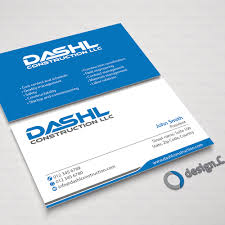 Construction Name Card Design Professional Design Will Be Awarded For Awesome Business Card