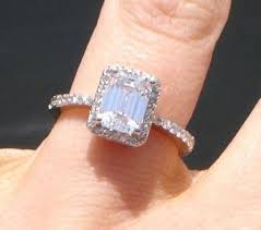 10000 engagement ring 10000 engagement rings emerald cut sides 5 ifec ci