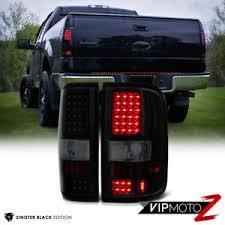 2004 f150 tail lights 2004 2008 ford f150 lobo sinister black smd led rear tail lights