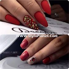 chic rhinestones nail art designs for girls stylo planet