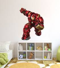 iron man wall stickers home design