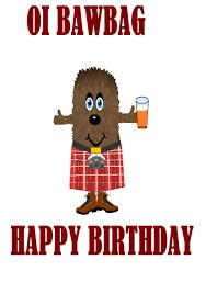 scottish happy birthday card stuff to buy pinterest happy