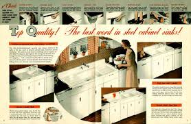 Crosley Steel Kitchen Cabinets Vintage 1941 Montgomery Ward Metal Kitchen Cabinets Retro Renovation