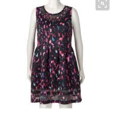 apt 9 clothing 60 apt 9 dresses skirts apt 9 laser cut fit flare