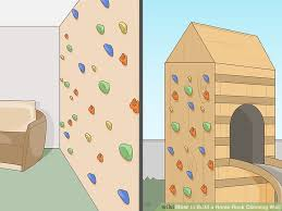 build a home how to build a home rock climbing wall 7 steps with pictures
