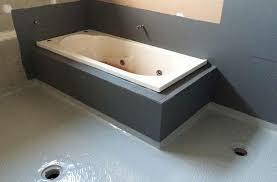 Ideas For Bathroom Waterproofing Under Tile Waterproofing Waterproofing Membrane Under Tiling On