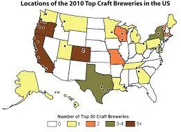 Colorado Breweries Map by April 2011