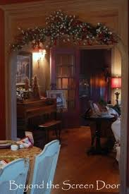 decorated garland archway arch on