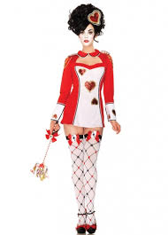 Circus Halloween Costumes Womens Red Card Guard Costume Circus Halloween Costume Circus Costume