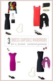 Wardrobe Clothing A 3 Dress Travel Capsule Wardrobe The Vivienne Files