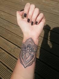 new mandala tattoo mandala crest wrist tattoo tattoos