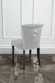Ring Back Dining Chair Positano Dining Chair With Back Ring Silver Study Ideas