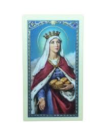 prayer card st elizabeth of hungary laminated prayer card theactsstore