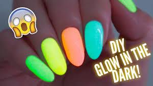 22 glow in the dark nail polish designs 30 eye catching glow nail