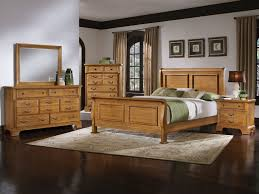 Oak Bed Set Oak Beds Oak Bedroom Sets For Family And Comfy Look Three
