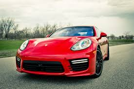 carmine red porsche 2014 porsche panamera turbo around the block